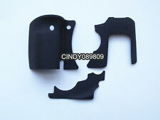 Original 3 Pieces Grip Rubber Cover Unit For Canon 6D DSLR Camera With 3M Glue