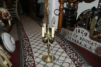 Vintage Middle Eastern Style Brass 4 Light Table Lamp Simple Design