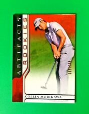 New listing 2021 Upper Deck Artifacts Collin Morikawa Red Parallel 065/199 !! SUPER HOT CARD