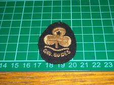 girl scout  boy scout vecchio stemma girl guides