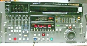 Sony DVW-A500 NTSC AND PAL Digital Betacam editing recorder