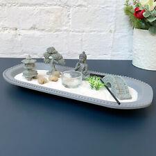Buddha Zen Garden Tea Light Candle Holder Sand Kit Set Home Decoration Ornament