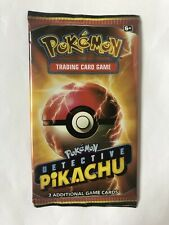 Detective Pikachu Exclusive Film Cinema 2 Card Promo Booster Pack Sealed SM190