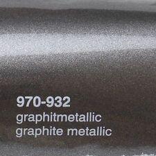 ( 17,09€/m ²) 0,5m m x 1,52m Oracal 970ra Grafito Metálico Brillo 932 Película