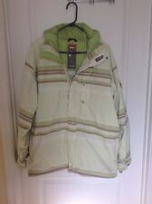 FOURSQUARE MENS INSULATED SNOWBOARD JACKET SIZE LARGE