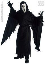 HALLOWEEN CARNEVALE COSTUME VESTITO SCREAMING GHOST FANTASMA UOMO TAGLIA  S