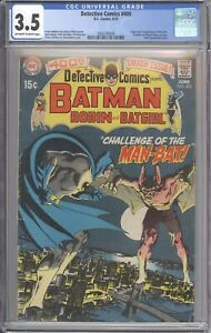 Detective Comics #400 CGC 3.5 - 1st Man-Bat - Robin & Batgirl Team-Up Story