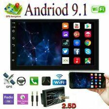 "7"" GPS Navi Android 9.1 2 DIN Autoradio Stereo WIFI Bluetooth Link Specchio FM"
