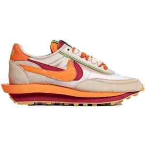 Nike LD Waffle sacai CLOT Net Orange Blaze (DH1347-100) In hand