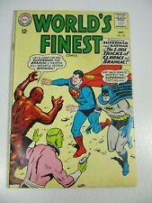 World's Finest #144 (Dc Comics 1964) Brainiac Clay-Face Superman Batman Vg
