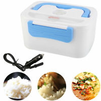 UK Portable 12V Car Adapter Plug Electric Lunch Box Heated Bento Food Warmer New