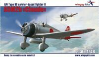 "A5M2b ""Claude"" IJN Type 96 carrier-based fighter II 1/48 Wingsy Kits D5-01"