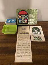 VTG Vintage 1962 MILLE BORNES Parker Bros French Card Game