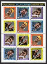 WWF 1993 Wrestling Sticker Stamps Hulk Hogan Full Sheet