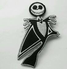 Jack Skeleton embroidered patch