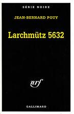 Livre Larchmütz 5632 J.Bernard Pouy