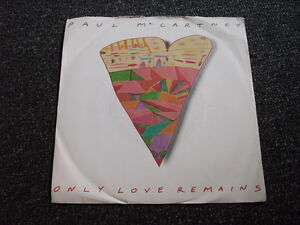 Paul McCartney-Only Love Remains 7 PS-Made in UK-Ex The Beatles
