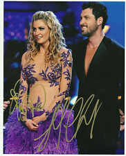 Dancing With The Stars ERIN ANDREWS/MAX CHMERKOVSKIY Duel  Signed 8x10