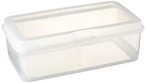 """STERILITE FBA_18058606 Storage Box Flip 13 1/8"""" L x 7 5/8"""" W x 4 1/2"""" H, 1 Pack,"""