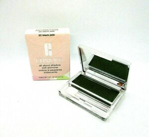 Clinique All About Shadow Soft Shimmer ~ 2C black Jade ~ .07 oz / BNIB