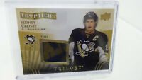 2014-15 Trilogy Tryptichs Jersey Relic Card Sidney Crosby 081 /400 Penguins