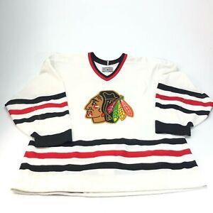 Vintage Chicago Blackhawks CCM Center Ice authentic Jersey size 48