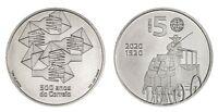 5 euro Portugal 2020 - Bureau de Poste