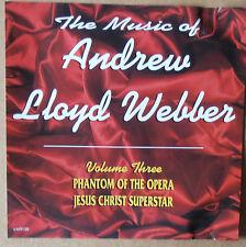The Music of Andrew Lloyd Webber - Volume Three - CD