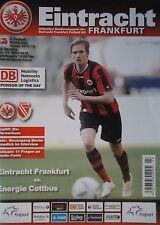 Programm 2011/12 SG Eintracht Frankfurt - Energie Cottbus