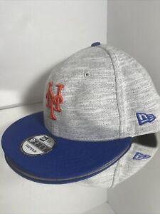 NY Yankees 9FIFTY New Era Gray & Black Snapback Hat