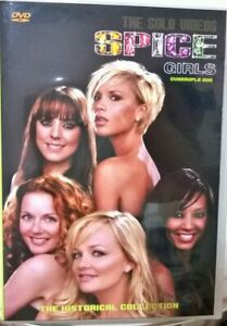 Spice Girls (Group + Solo) Quadruple4x DVD The Collection