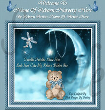 ~~LITTLE STAR BOY REBORN BABY AUCTION TEMPLATE WITH  FREE LOGO & BIRTH CERT~~