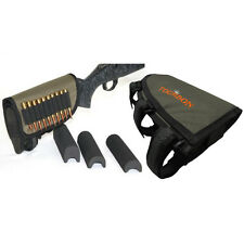 Tourbon Rifle Buttstock Cheek Rest Shell Ammo Mag Cartridges Hold Pouch Tactical