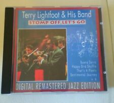 CD Jazz Terry Lightfoot - Stomp Off, Let's Go (10 Song) PASTELS