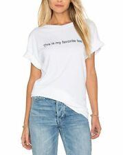 Wildfox Damen This Is My Favorite wrt78814l Sauber Weiß T-Shirt Größe M