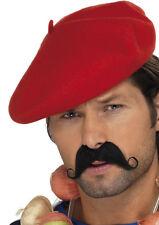 classique béret basque rouge NEUF - Carnaval Chapeau couvre-chef