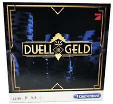 Clementoni Das Duell um die Geld, Brettspiel Gesellschaftsspiel Pokern 69066.4