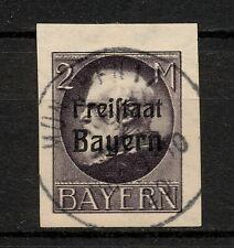 (Yyau 686) Bayern 1920 Used Mich 166B Scott 226 Bavaria Germany