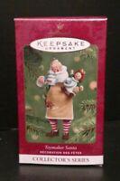 Hallmark Keepsake Ornament 2001 Toymaker Santa BOX T42