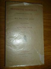 BENEDETTO MARCELLO Musicista vita e opere per Leonida Busi Bologna 1884