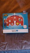 Super Mario Official NINTENDO Wii U Battle Pad Classic Controller PDP Brand New