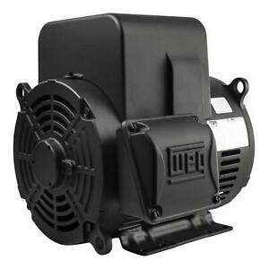7.5 HP Replacement Motor 1 Phase 3520 RPM 213T For Ingersoll Rand Compressors