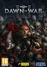 JEU PC WARHAMMER 40,000 : DAWN OF WAR III Neuf Sous Blister