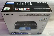 Canon PIXMA MG7520 Print Copy Scan Wireless Inkjet Photo All-In-One CD Printing