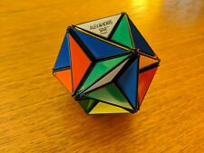 Vintage Alexander's Star Rubik's Cube Puzzle Ideal Toys 1982