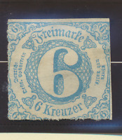 Thurn and Taxis Stamp Scott #54, Unused, No Gum