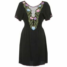 Rayon Summer Dresses for Women with Embroidered
