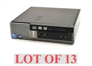 Dell Optiplex 7010 USFF Intel i5-3470s 2.9GHz 8GB 500GB Win10 Computer PC Lot 13