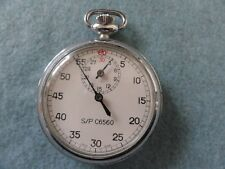 Swiss Made Scientific Products C6560 Mechanical Wind Up Stop Watch Stopwatch