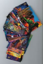 1994 Marvel Masterpieces GOLD FOIL Signature Series single cards $1.00 each.